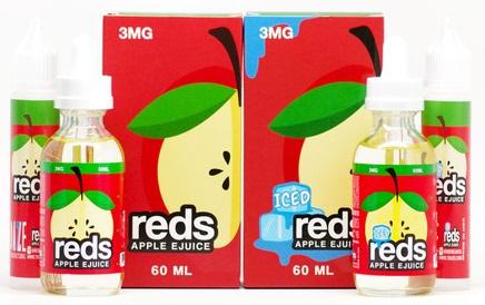 Vape 7 Daze Reds Apple E-Liquid Review