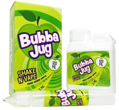 Sour Green Apple E-Juice by Bubba Jug Review