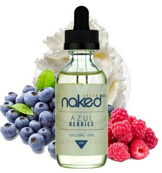 Naked 100 Azul Berries E-juice Review