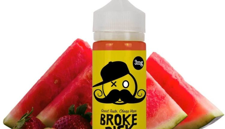 Prepaid E-juice by Broke Dick Review