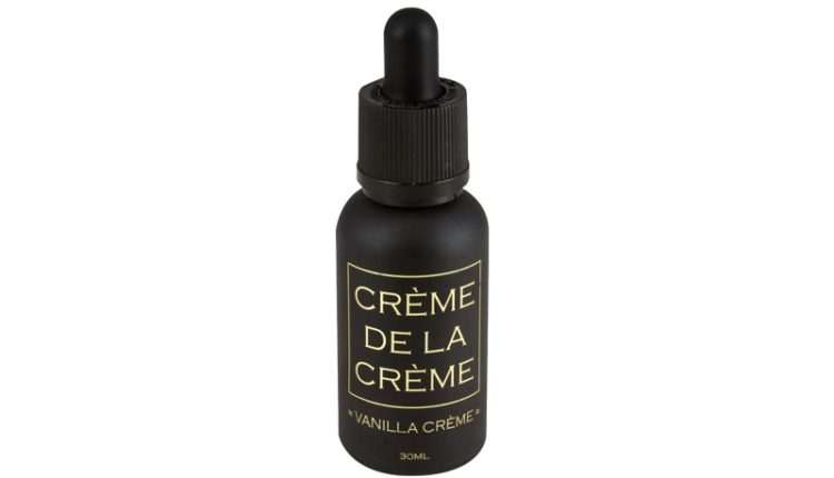 Vanilla Creme E-Liquid by Creme de la Creme Review