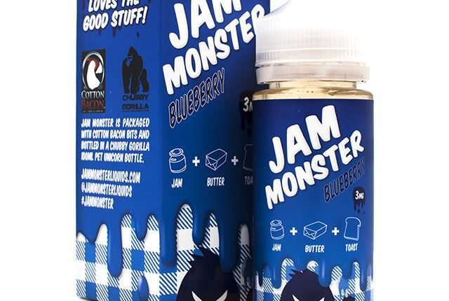 Blueberry Jam E-Juice by Jam Monster Review